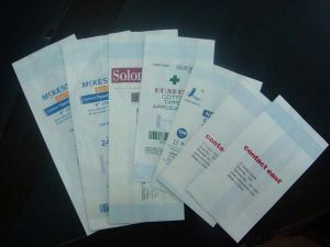 Medical Hot-Sealed Gusseted Sterilization Pouch pictures & photos