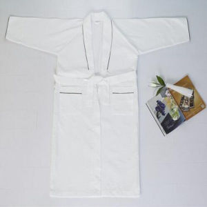 Cheap Promotion Waffle Bathrobe for Hotel/Home Pajamas (DPF10131) pictures & photos
