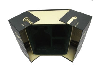 China Luxury Paper BoxPaper Jewelry BoxPerfume BoxLid and Base