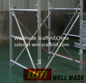 Slab Shuttering Scaffolding Frames Doka Formwork Shoring Tower pictures & photos