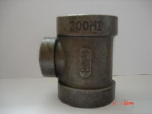 Malleable Iron Pipe Fitting-Tee Class 300