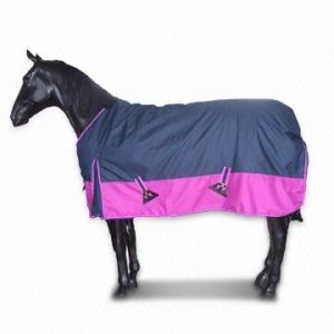 Waterproof Breathable Ripstop Turnout Horse Blanket (SMR4507) pictures & photos