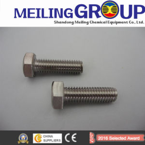 High Tensile Hex Flange Bolts for Motorcycle pictures & photos