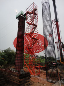 Bridge Pier Ladder Stand Scaffold Scaffolding
