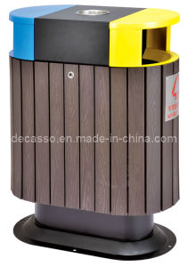 Good Quality Outdoor Sortable Dustbin (DL15) pictures & photos