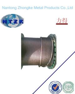6*12+7FC Ungalvanzied and Galvanized Steel Wire Rope, Chinese Rope pictures & photos