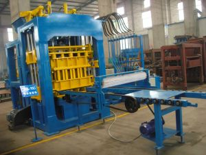 QT8-15 Automatic Hollow Concrete Block Making Machinery/Cement Brick Making Machine