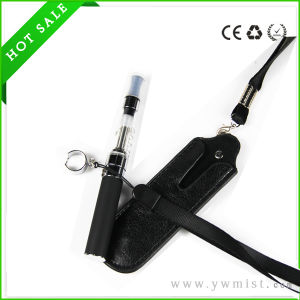 Portable Electronic Cigarette Leather EGO Case with Sling