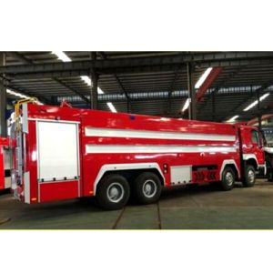 government Using 420HP LHD /Rhd Rescue Fire Fighting Truck pictures & photos