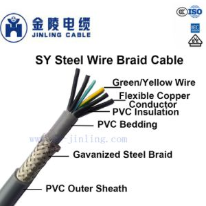 Sy Steel Wire Braid Cable Control Cable - China Control Cable, Braid ...