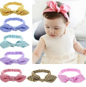 Baby Girl Headbands Accessories Multicolor Knotted Head Wrap Elastics Hair  Band with Bow 0d9ccf323e5