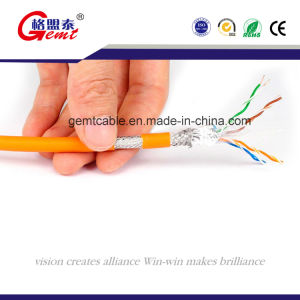 High Speed Cat7 SSTP Copper LAN Cable pictures & photos