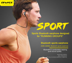 China Awei A890bl Sport Wireless Bluetooth Stereo Earphone Headset ... eee50b1c66521