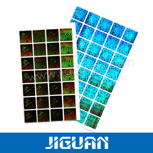 New Style Free Sample 3m Adhesive Custom Hologram Sticker pictures & photos
