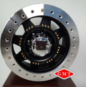 Real Beadlock Alloy Wheel for Land Cruiser, Ford 150 pictures & photos