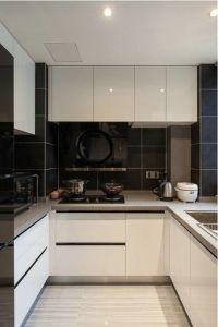 Modern White High Gloss Kitchen Furniture and Kitchen Cabinet Yb1712002
