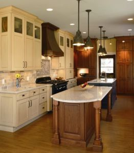 Wood Kitchen Cabinet Oak Kitchen Furniture #1728 pictures & photos