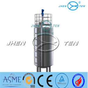 500L Stainless Steel Mixing Tank Sealed Single Layer Agitator pictures & photos