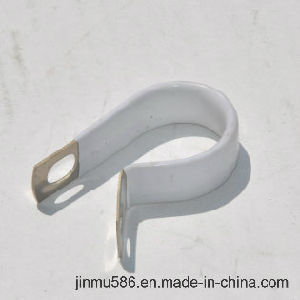 Hose Clamp with White Rubber (9mm) pictures & photos