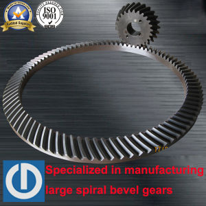 Oil Drilling Rig Rotary Table Spiral Bevel Gear pictures & photos