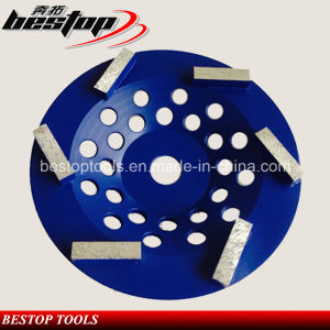6 Diamond Grinding Segments Cup Wheel for Concrete Dry Grinding pictures & photos