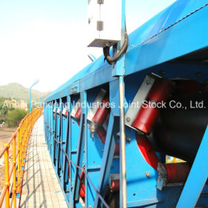Overland DIN/Cema/ASTM/Sha Standard Pipe Belt Conveyor Systems/ Pipe Conveyor Equipment