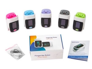 Digial Pulse Finger Oximeter with OLED Display Heart Rate and SpO2 pictures & photos