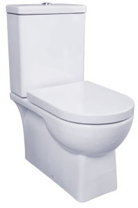 Two Piece Ceramic Toilet Washdown Toilet Water Closet Wc 9972