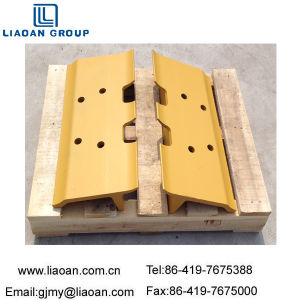 Mini Crawler Bulldozer Undercarriage Spare Part Steel Single Grouser Track Shoe D6d for Caterpillar Bulldozer Part pictures & photos