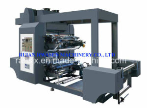 High Speed 2 Colors Roll Paper Flexographic Printing Machine pictures & photos