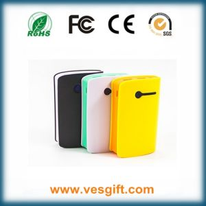 Thin Waist Portable Power Bank 6000mAh Li-ion Battery pictures & photos