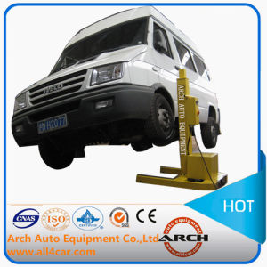 China Mini Single One Post Lift Car Hoist Garage Equipment China