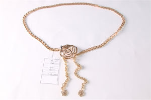 Newest Women Metal Chain Belt Jbe1646 pictures & photos