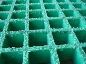 Anti Slip Fibreglass Grating, Industrial GRP Grating pictures & photos