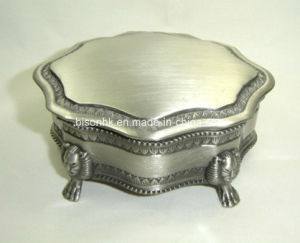 10X8.5X4.9cm China Jewelry Set Box, Metal Jewelry Box