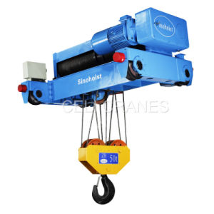 CE Approved Zha Double Girder Electric Hoist