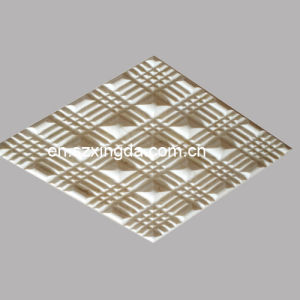 3D Gold Mosaic Wall Tile