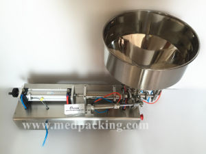 Pneumatic Filling Machine for Cream/ Shampoo/ Cosmetic (50-500ml)