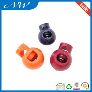 Wholesales Colorful Plastic Nylon Cord Lock for Hats