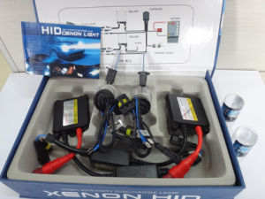 DC 24V 55W H3 HID Lamp (blue and blak wire)