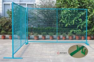 Powder Coated Galvanized Canada Temporary Removable Metal Fencing Yaqi Supply pictures & photos