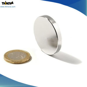Permanent Sintered Rare Earth Hard Disk NdFeB Magnet