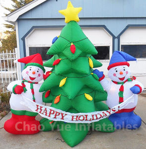 Beautiful Inflatable Christmas Tree Decoration for Christmas Holiday (CYAD-1465) pictures & photos