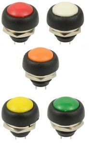 off (ON) Car Dashboard Boat Spst 7 X 12V Momentary Push Button Horn Switch pictures & photos