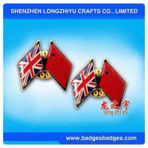 National Flag Badge of China and United Kingdom pictures & photos