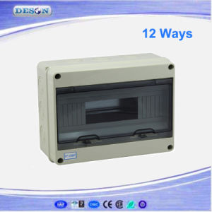 IP55 8way/12way/15way/18way/24way Waterproof Power Distribution Box pictures & photos