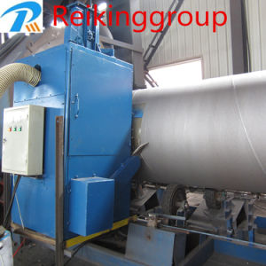 Highly Efficient Steel Pipe Shot Blast Cleaning Equipment pictures & photos