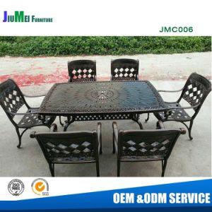 China Outdoor Garden Cast Aluminum Dining Chair And Cast Aluminum Table Jmc006 China Cast Aluminum Chair Cast Aluminum Table