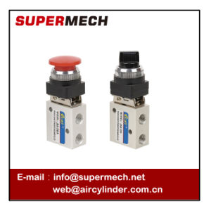 Jm 2 Position 3 Way Pneumatic Mechanical Valve pictures & photos