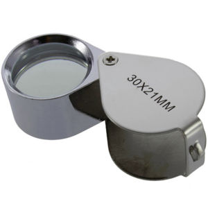 Multicolor Foldable Jewelry Magnifier Diamond Loupe Crafts Appreciation Magnifier pictures & photos